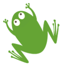 Waterwise Landscape Design frog logo
