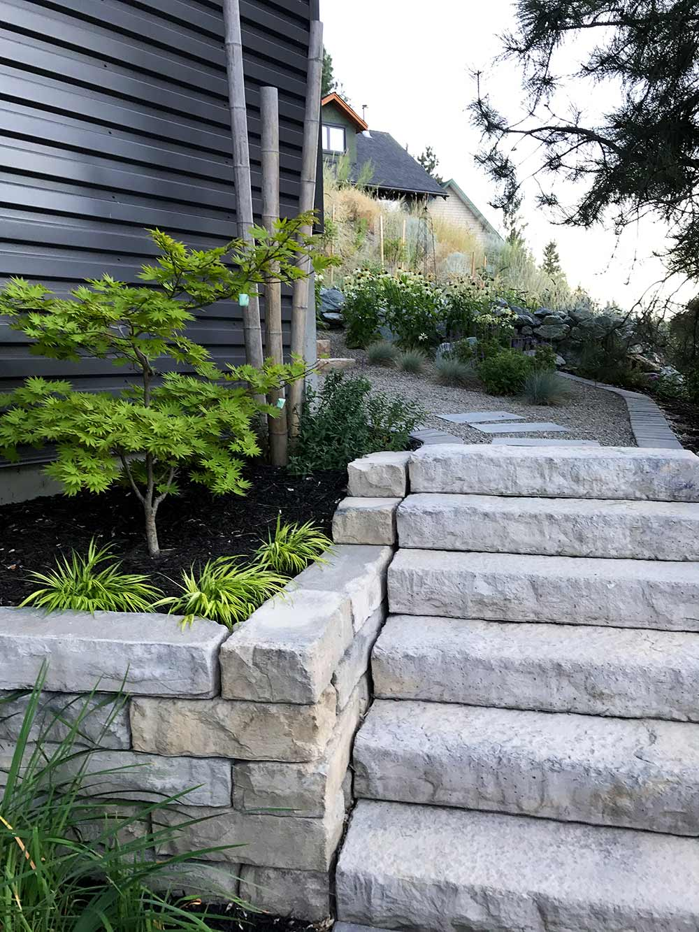 Hardscape designed by Waterwise Design landscape services